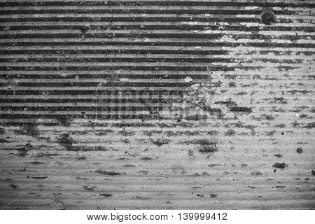 Old Grey Stained Wall. Grunge Texture