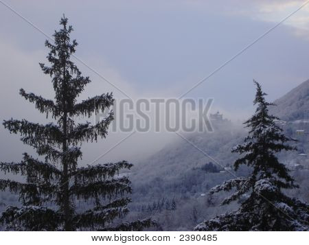Winter . Mountain