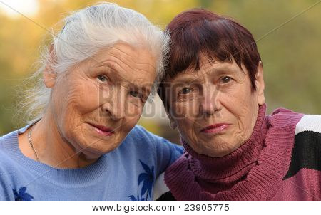 Two Sisters Of Old Age
