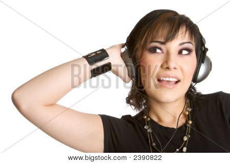 Headphones Girl