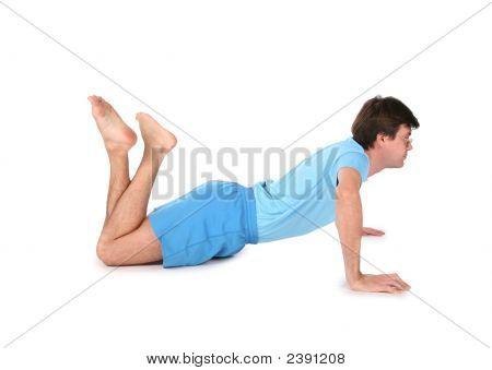 Man On Floor