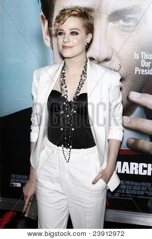 LOS ANGELES - SEPT 27:  Evan Rachel Wood arriving at  the