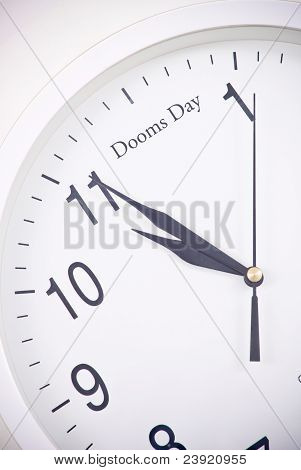 Counting Down To Dooms Day
