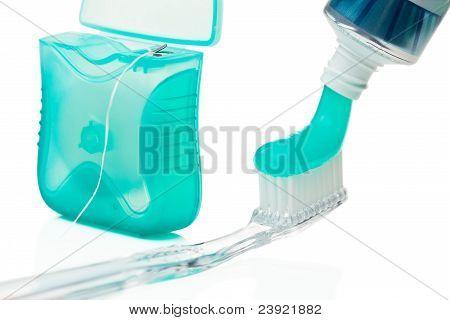 Dental hygiene.