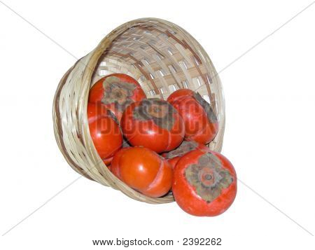 Basket Of Persimmon