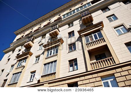 Residential Building In Central Moscow