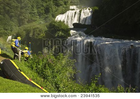 Marmore rapids