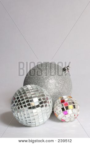 Silver Baubles