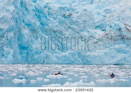 Kayaking At Glacier