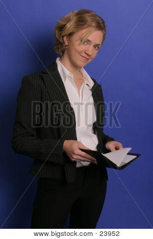 Business Woman Suit