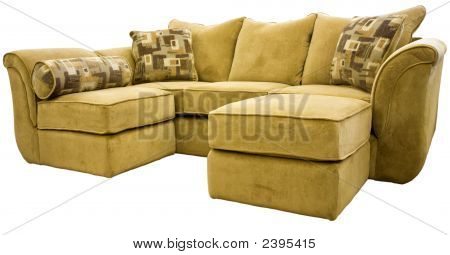 Sectional Sofa Group With Ottoman