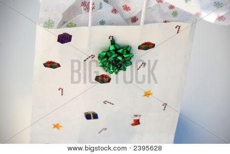 Single Holiday Gift Bag