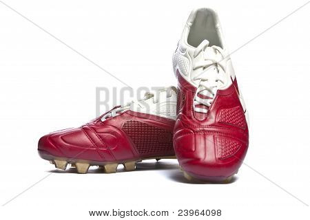 Football boots. Soccer boots.
