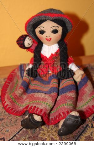 Peruvian Doll Vertical