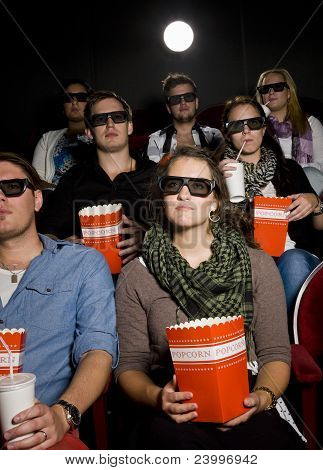 Spectators At Cinema