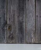 Background Of A Gray Wooden Boards. Wooden Boards. Gray Background. poster