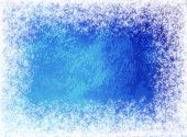 Snow Canvas Cristmas Background