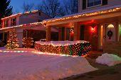 picture of christmas lights  - christmas lights on homes - JPG