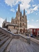 Cathedral Of Burgos, Unesco, Spain