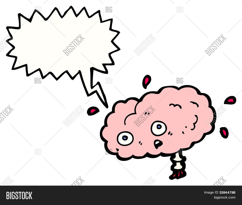 Imagen y foto Dibujos Animados De Cerebro  Bigstock