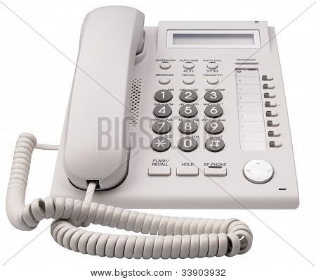 Ip Telephone Front View