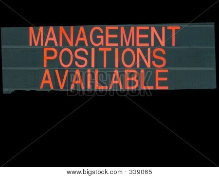 Managers Wanted