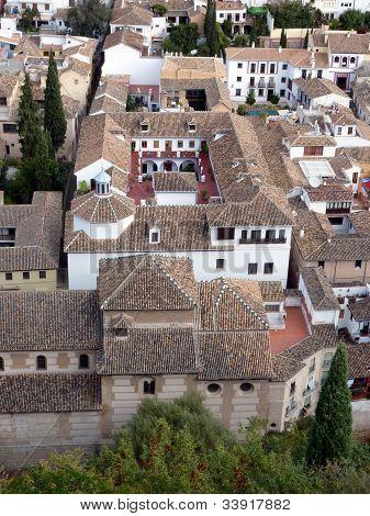 Cityscape - Granada, Spain