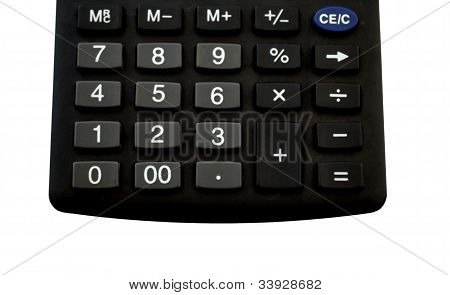 calculator keyboard