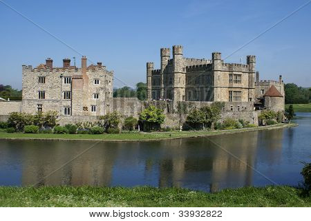 Leeds castle, England, UK
