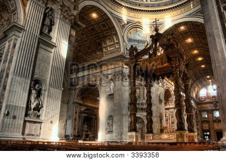 Inside St. Peters