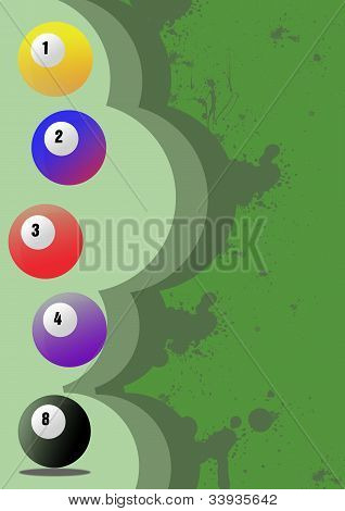 Billiard Background