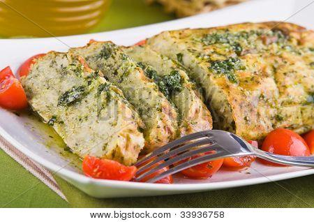 Vegetable meatloaf.
