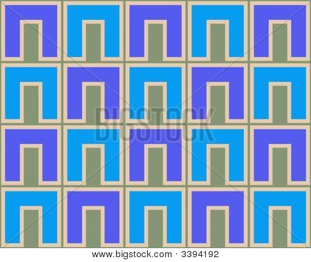 Pop Art Cs Pattern Blue Light Blue