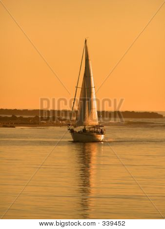 Morrow Bay Sailboat