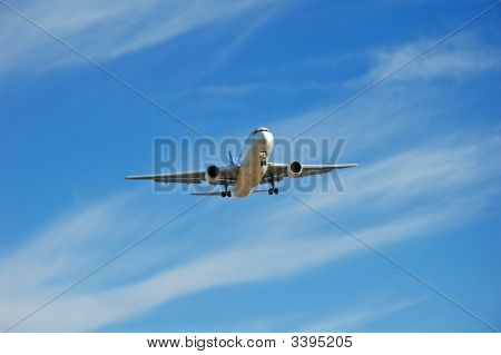 Airplane In Flight