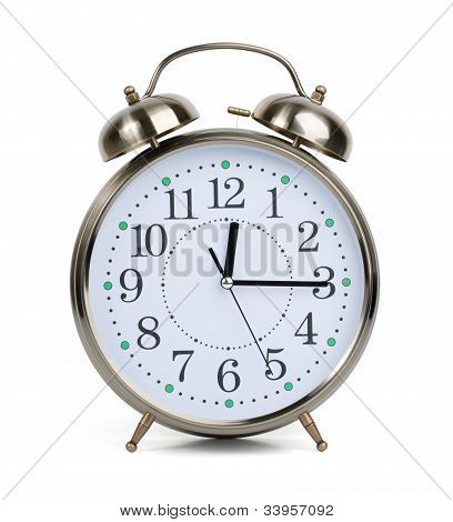 Alarm Clock In A Metal Case