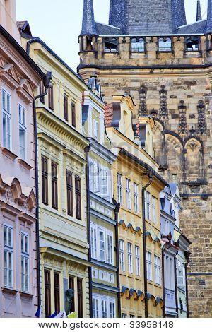 Famous buildings of Prague