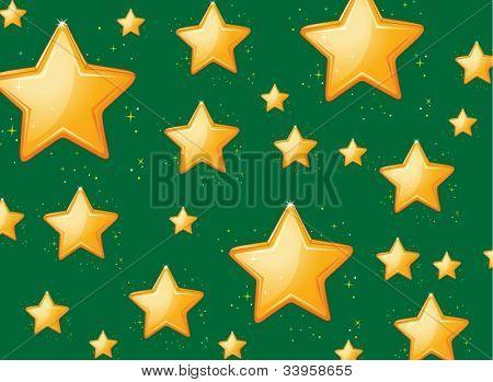 Illustration of a star background