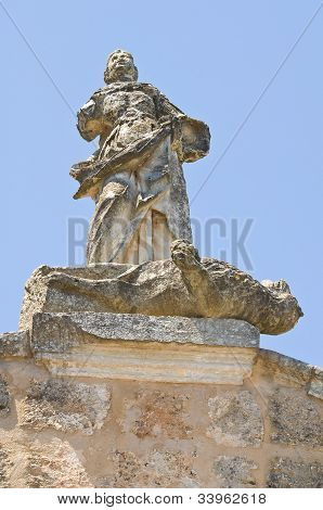 Gate of St. Vito. Soleto. Puglia. Italy.