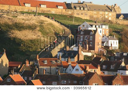 The Abbey steps at Whitby.