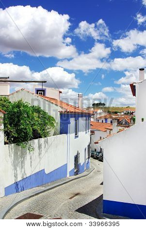 Street Of Arraiolos Village