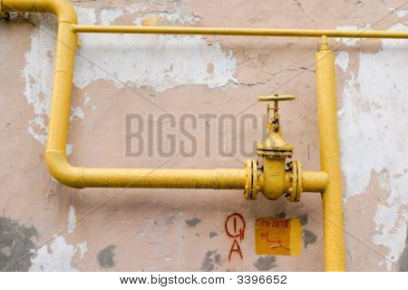 Old Gas Pipe