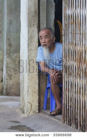 Vietnamese Old Senior Man