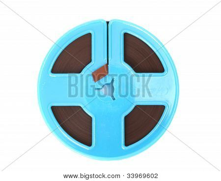 Blue Magnetic Tape