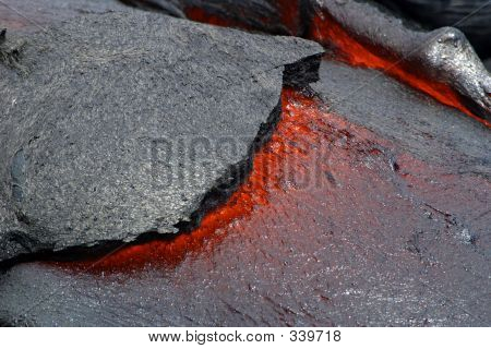 Lava Flow - Hawaii Volcanoes National Park