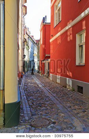 Pretty Riga backstreet