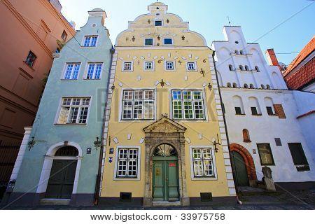 Three Brothers - Riga