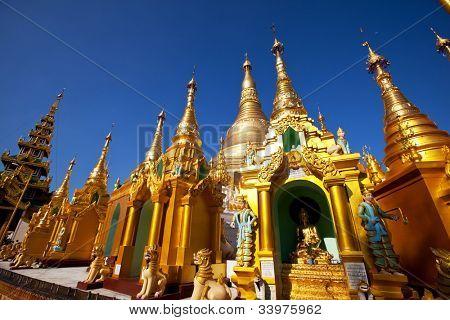 Buddhist temple ,Myanmar