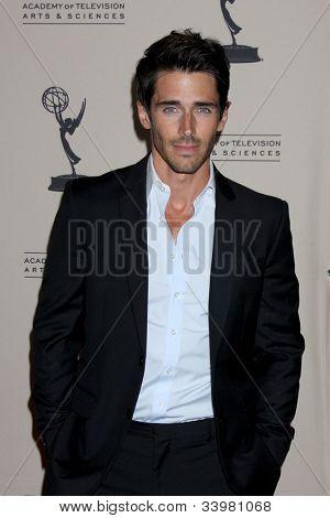 LOS ANGELES - JUN 14:  Brandon Beemer arrives at the ATAS Daytime Emmy Awards Nominees Reception at SLS Hotel At Beverly Hills on June 14, 2012 in Los Angeles, CA