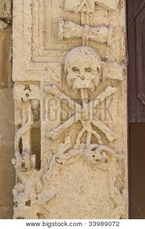 Church of the Purgatory. Soleto. Puglia. Italy.